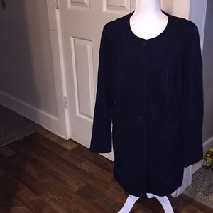 Cabi navy colored pocketed jacket size L